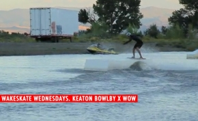 WAKESKATE WEDNESDAYS. KEATON BOWLBY X WOW